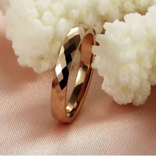 unique gold womens promise ring gift for her