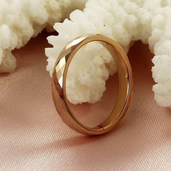 gift for women - unique gold womens ring gift for her
