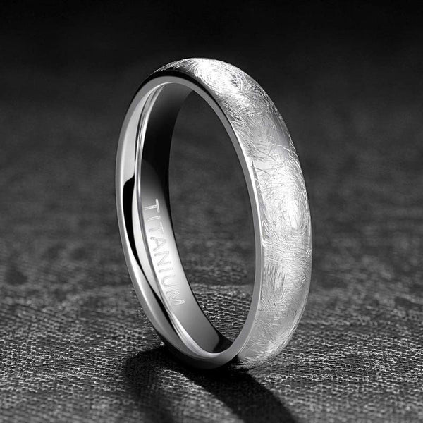 matching silver couple rings for him and her