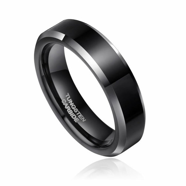 personalized black mens promise rings