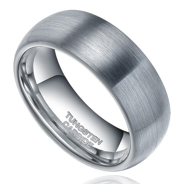 silver mens promise rings for him
