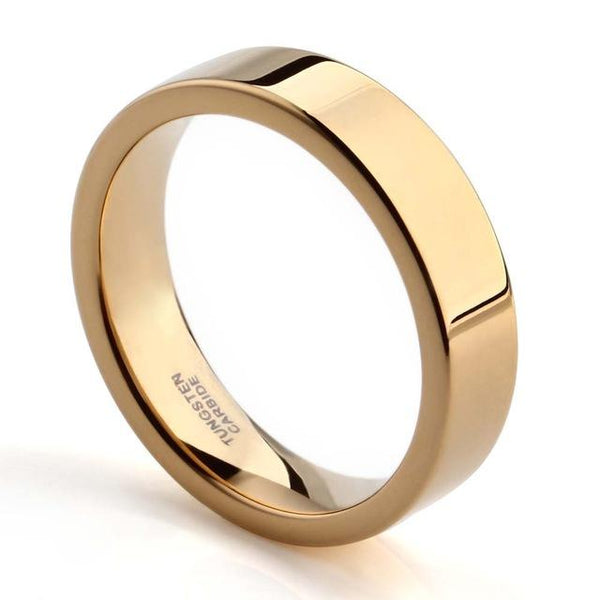 Gold mens personalized ring