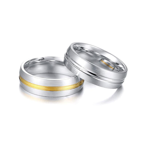 Couples rings - Personalized Silver Mens Ring