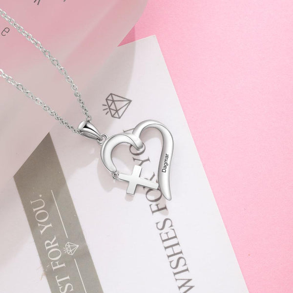 personalized Christian necklace for women