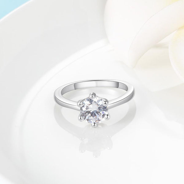 Princess ring for women - promise ring for her