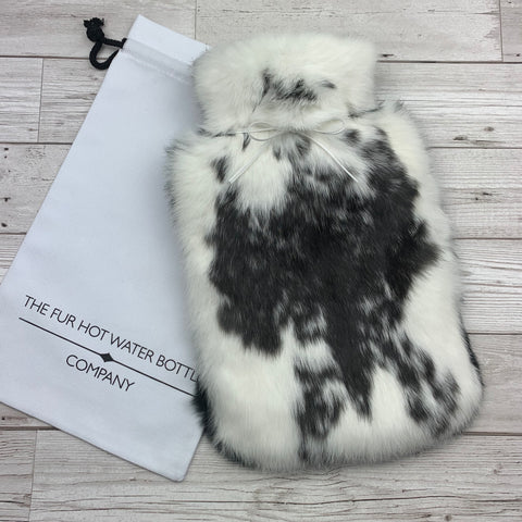 fur hot water bottle