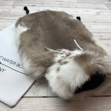 Luxury Fur Hot Water Bottle Rabbit Fur - 247-3