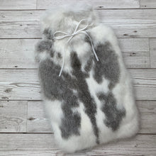 Real Rabbit Fur Luxury Hot Water Bottle - Large - #249 - Premium/1