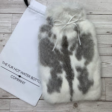 Real Rabbit Fur Luxury Hot Water Bottle - Large - #249 - Premium/2