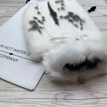 Real Fur Hot Water Bottle - Large - #196/2