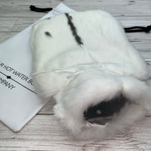 Luxury Rabbit Fur Hot Water Bottle - Large - #205/3