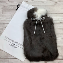 Luxury Rabbit Fur Hot Water Bottle - Large #177 - Premium/1