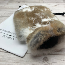 Luxury Hot Water Bottle - Rabbit Fur - Large - #216/2