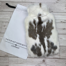 Luxury Real Fur Hot Water Bottle - Large - #193/2
