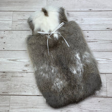 Rabbit Fur Luxury Hot Water Bottle - Large - #232/1
