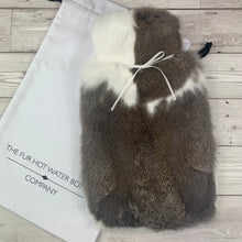 Luxury Fur Hot Water Bottle -Large - #252 - Premium