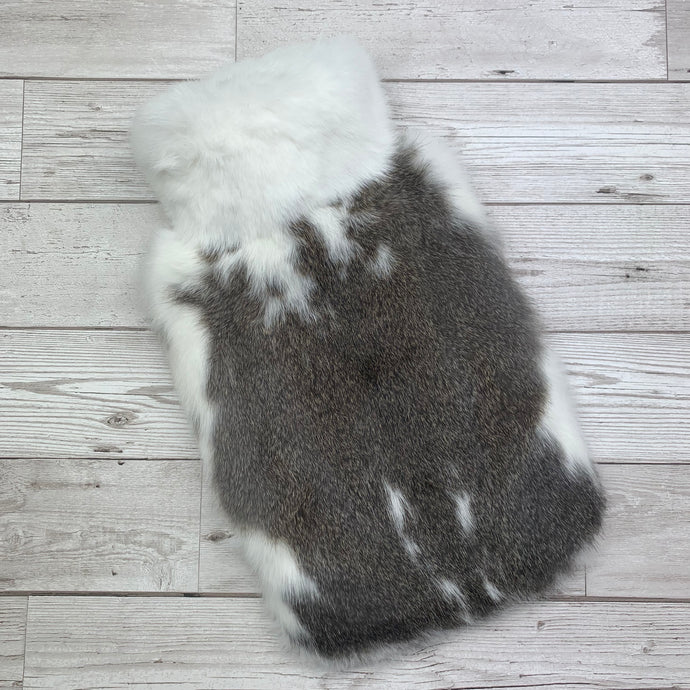 Photo of Brown and White Fur Luxury Hot Water Bottle 136-1