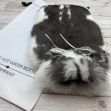 Rabbit Fur Luxury Hot Water Bottle - Large - #186 - Premium/3