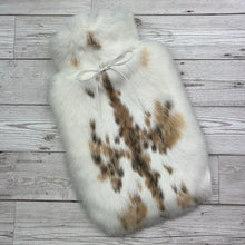 Luxury Rabbit Fur Hot Water Bottle - Large - #236 - Premium