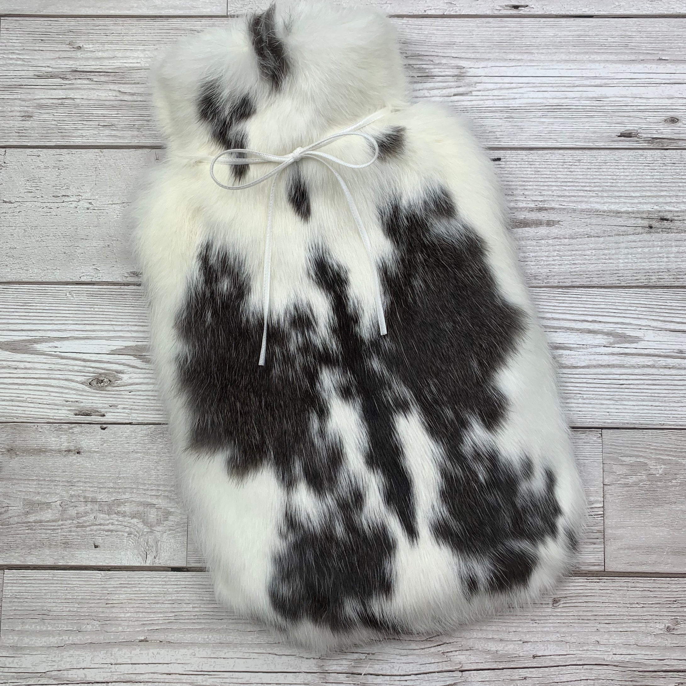 Luxury Rabbit Fur Hot Water Bottle - Large - #206/1