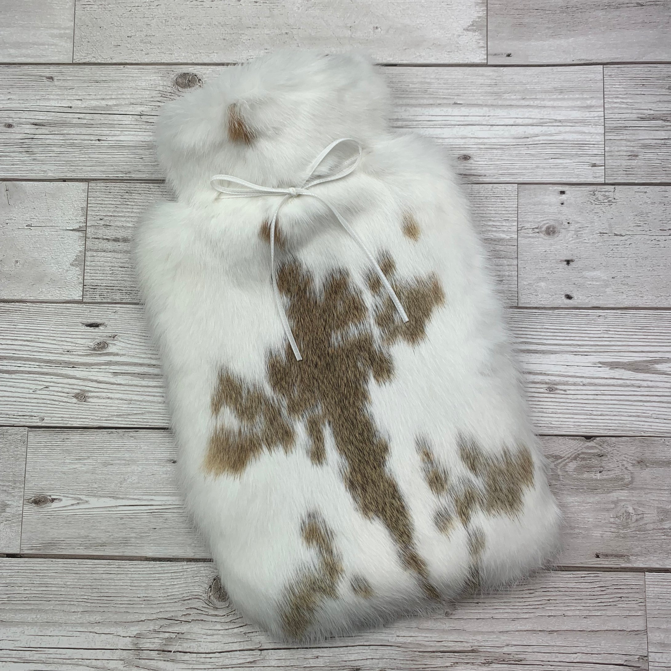 Luxury Fur Hot Water Bottle - Large - #183/1