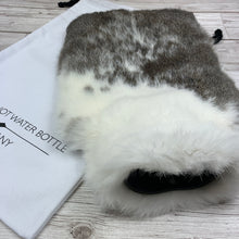 Rabbit Fur Hot Water Bottle - #264 - Large - Premium