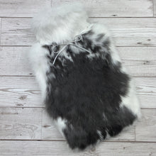 Photo of a rabbit fur hot water bottle 156-1