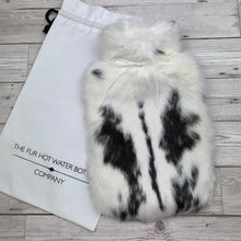 Luxury Rabbit Fur Hot Water Bottle - Large - #178/2