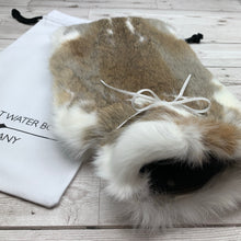 Luxury Rabbit Fur Hot Water Bottle - Large - #199/2