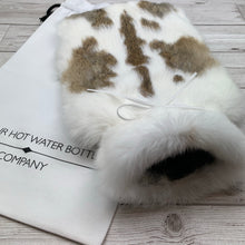 Luxury Rabbit Fur Hot Water Bottle - Large - #185/2