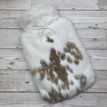 Luxury Rabbit Fur Hot Water Bottle - Large - #219/1