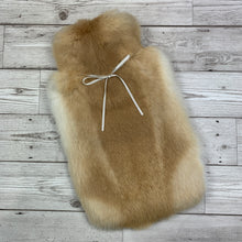 Real Fur Hot Water Bottle - Large - #258 - Premium