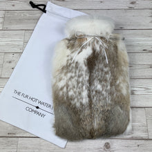 Rabbit Fur Luxury Hot Water Bottle - #138 - photo 3