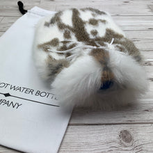 Luxury Fur Hot Water Bottle - Small - #223/2