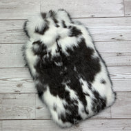 Rabbit Fur Luxury Hot Water Bottle - Large - #168