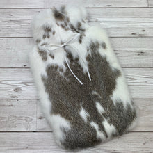 Real Fur Hot Water Bottle - Large - #211/3