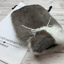 Luxury Rabbit Fur Hot Water Bottle - Large - #184/2