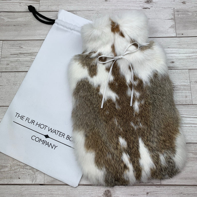 Real Fur Hot Water Bottle - Large - #198/1