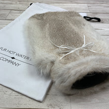 Rabbit Fur Luxury Hot Water Bottle - Large - #253 - Premium