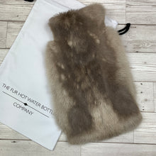 Luxury Rabbit Fur Hot Water Bottle - #261 - Premium