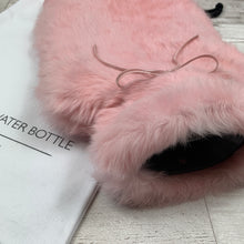 Blossom Pink Luxury Hot Water Bottle - Large - Luxury Fur Hot Water Bottle