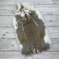 Luxury Rabbit Fur Hot Water Bottle - Large - #197