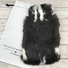 Real Fur Hot Water Bottle #126 - Large - The Mottled Collection - The Fur Hot Water Bottle Company
