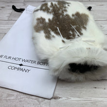 Luxury Rabbit Fur Hot Water Bottle - Large - #200/2