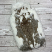 Luxury Real Fur Hot Water Bottle - Large - #230/3