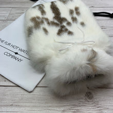 Luxury Rabbit Fur Hot Water Bottle - Large - #213