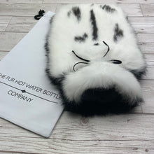Rabbit Fur Luxury Hot Water Bottle - Large - #176/2