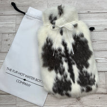 Luxury Rabbit Fur Hot Water Bottle - Large - #206/3