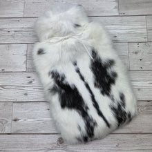 Luxury Rabbit Fur Hot Water Bottle - Large - #178/1