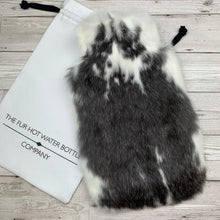 Luxury Hot Water Bottle - Real Fur - Large - #238/3